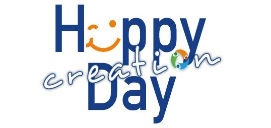 Logo Happy creation day