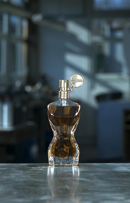 Flacon parfum La Femme Jean-Paul Gaultier